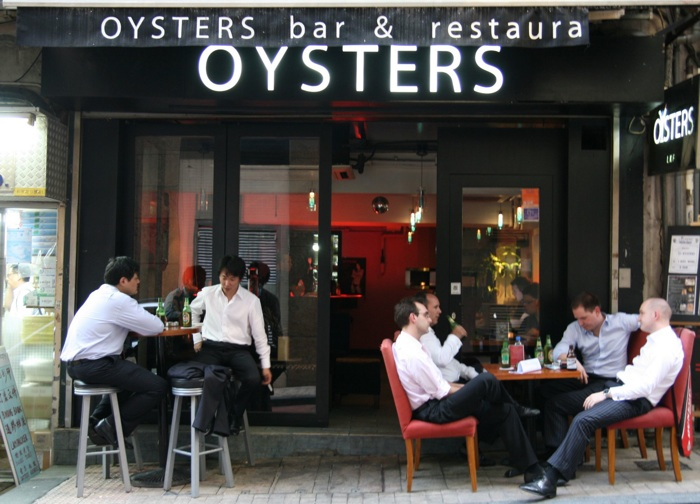Oysters Bar und Restaurant - $10 Bier in Hong Kong!