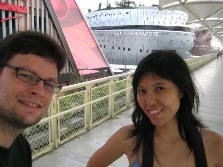 Shanghai Expo - Singapur