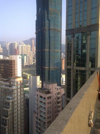 Hong Kong Bamboo Scaffolding - The Oakhill Wan Chai #1