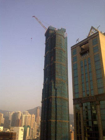 Hong Kong Bamboo Scaffolding - The Oakhill Wan Chai #2